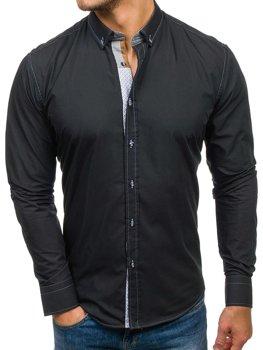 Koszula męska BOLF 5777 czarna