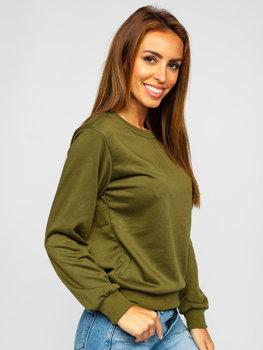 Bluza damska khaki Denley WB11002