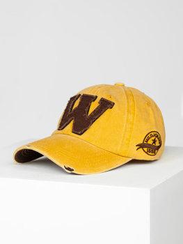 Camelowa czapka z daszkiem Denley CZ71