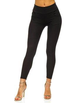 Czarne legginsy damskie Denley YW06021