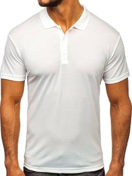 Koszulka polo męska ecru Denley HS2005
