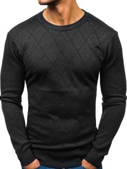 Sweter męski antracytowy Denley H1827