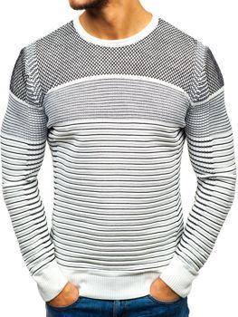 Rewelacyjny Wzorzyste swetry męskie - Moda 2019 - Dostawa 0 zł! l Denley.pl JX04