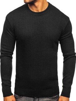 Sweter męski czarny Denley 0001