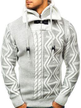 Sweter męski ecru Denley 20004