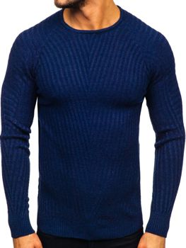 Sweter męski granatowy Denley 285