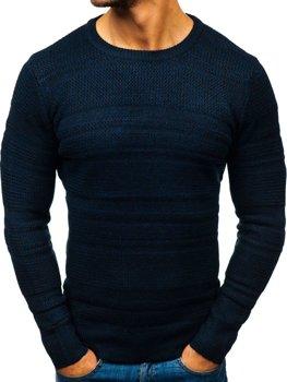 Sweter męski granatowy Denley H1805