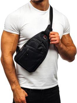 Torba męska na ramię nerka czarna Denley T50