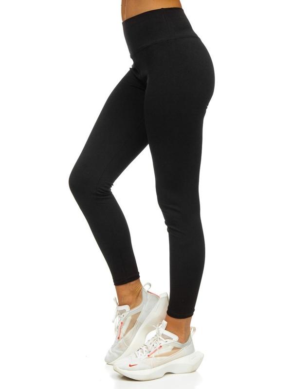 Czarne legginsy damskie Denley CHE008