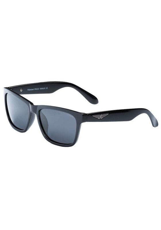 Okulary przeciwsłoneczne polaryzacyjne czarne Denley PLS205B