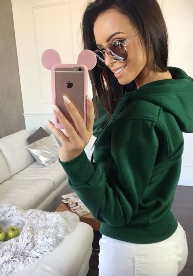 Bluza damska zielona Denley AK50