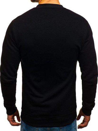 Bluza męska bez kaptura czarna Bolf 43S-B