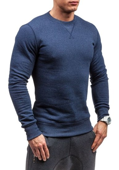 Bluza męska bez kaptura jasno granatowa Bolf 44S