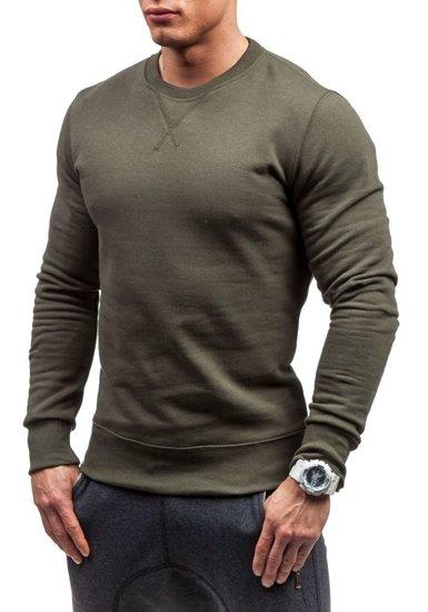 Bluza męska bez kaptura khaki Bolf 44S