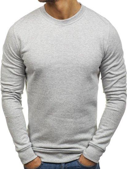 Bluza męska bez kaptura szara Denley 01