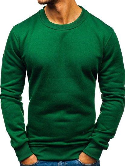 Bluza męska bez kaptura zielona Bolf BO-01