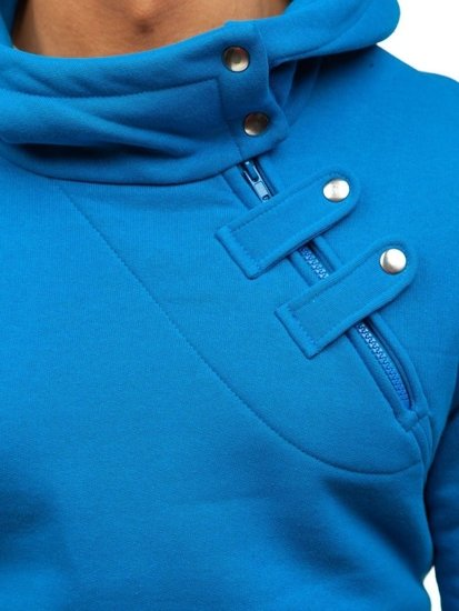 Bluza męska z kapturem indygo Bolf 06