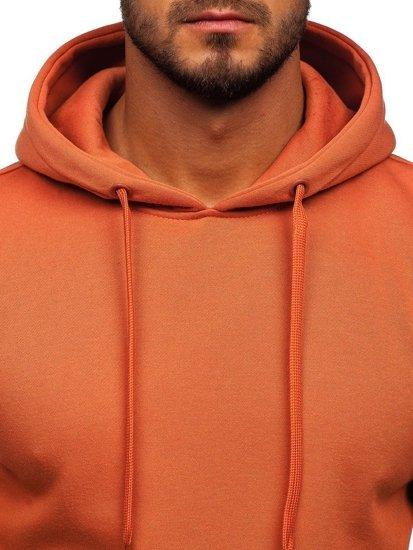 Bluza męska z kapturem łososiowa Denley 2009