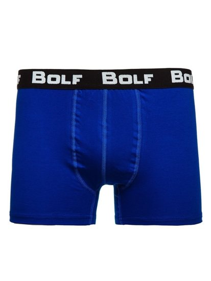 Bokserki męskie niebieskie Bolf 0953-3P 3 PACK