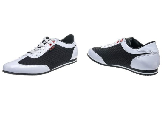 Buty męskie G-CLASS 555 biało-czarne
