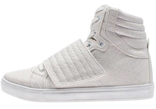 Buty męskie białe Denley 3031