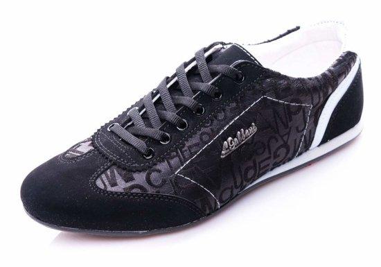 Buty męskie czarne Denley 614