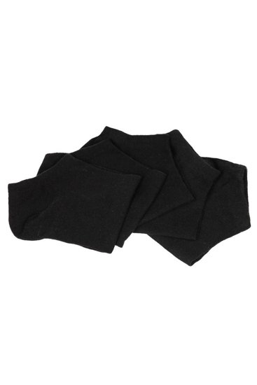 Czarne skarpetki męskie Denley X10160-5P 5 PACK