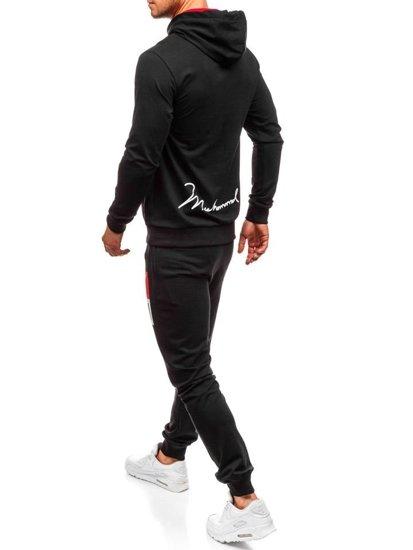 Dres męski czarny Denley 0391