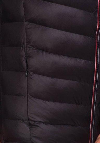 Kurtka męska przejściowa sportowa czarna Denley 3082
