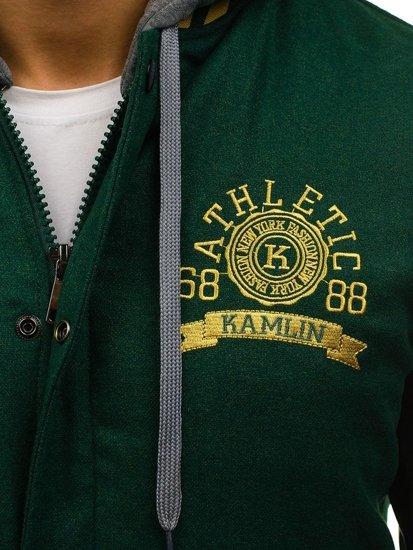 Kurtka męska przejściowa sportowa zielona Denley k18