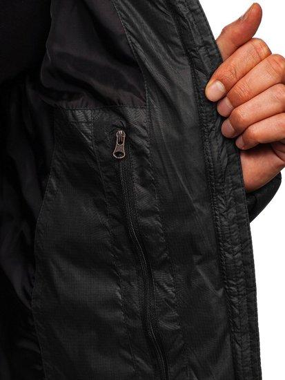 Kurtka męska zimowa czarna Denley 5537