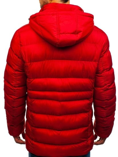Kurtka męska zimowa czerwona Denley 48884