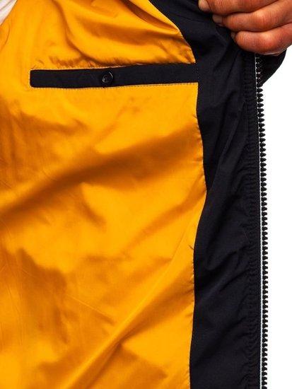 Kurtka męska zimowa granatowa Denley 5973