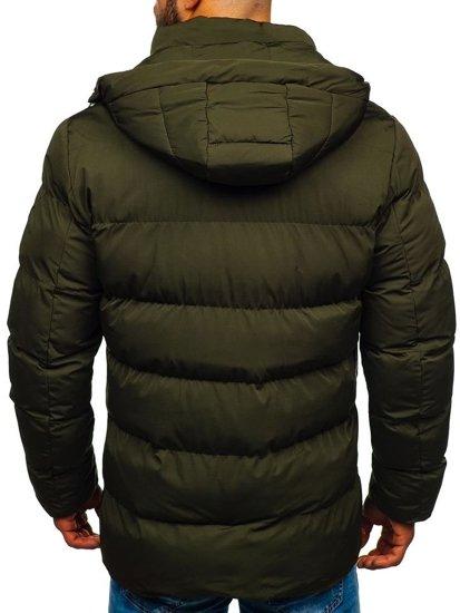Kurtka męska zimowa khaki Denley 5973