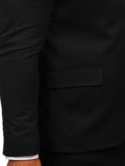 Marynarka męska elegancka czarna Denley SR2003
