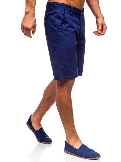 Niebieski szorty męskie Denley 1140