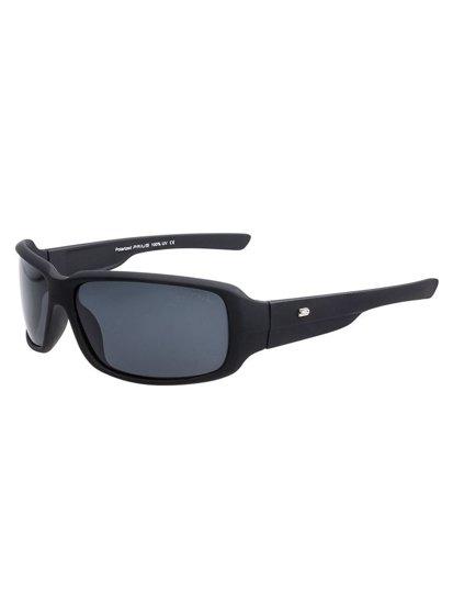 Okulary przeciwsłoneczne polaryzacyjne czarne Denley PLS109M