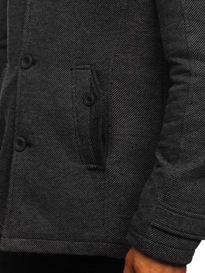 Płaszcz męski szary Denley 1909