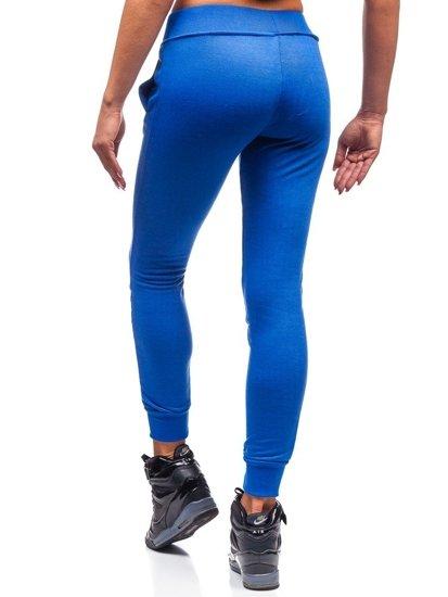 Spodnie dresowe damskie chabrowe Denley WB11003