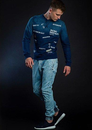 Stylizacja nr 44 - bluza z nadrukiem, spodnie joggery, buty