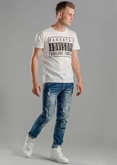 Stylizacja nr 57 - T-shirt, spodnie jeansowe