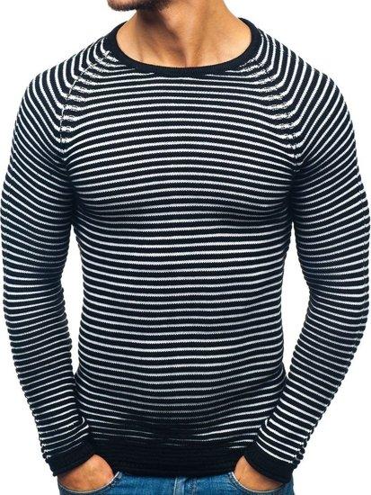Sweter męski czarny Denley 152