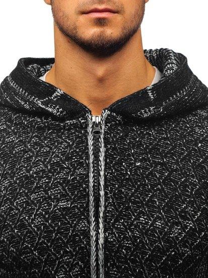 Sweter męski czarny Denley 20016