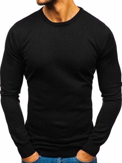 Sweter męski czarny Denley 2300