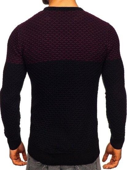 Sweter męski czarny Denley 328