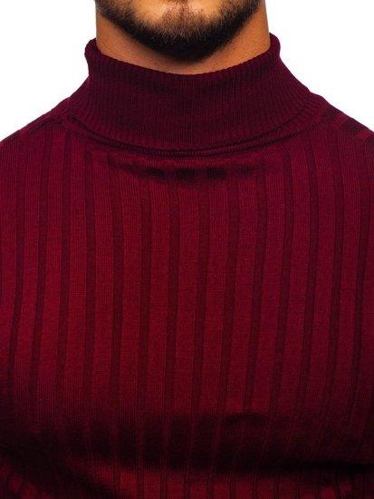 Sweter męski golf bordowy Denley 2002