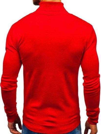 Sweter męski golf czerwony Denley 2400