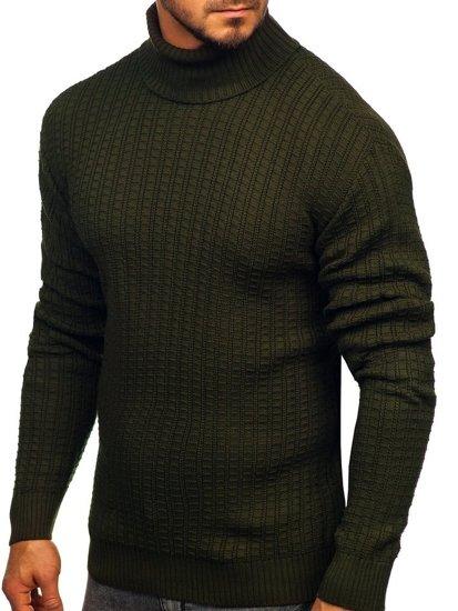 Sweter męski golf zielony Denley 315