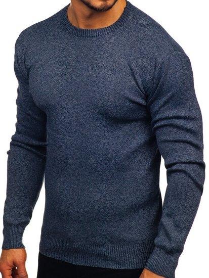 Sweter męski granatowy Denley 8364