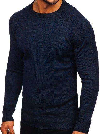Sweter męski granatowy Denley H1929